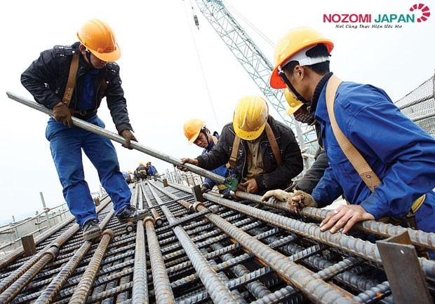 xuất khẩu lao động ngành xây dựng tại nhật bản